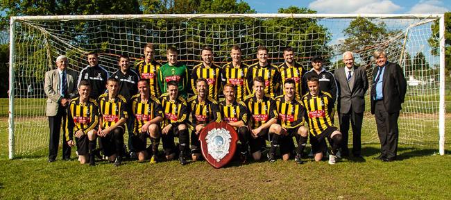Holland FC cup winners 2013/2014 season