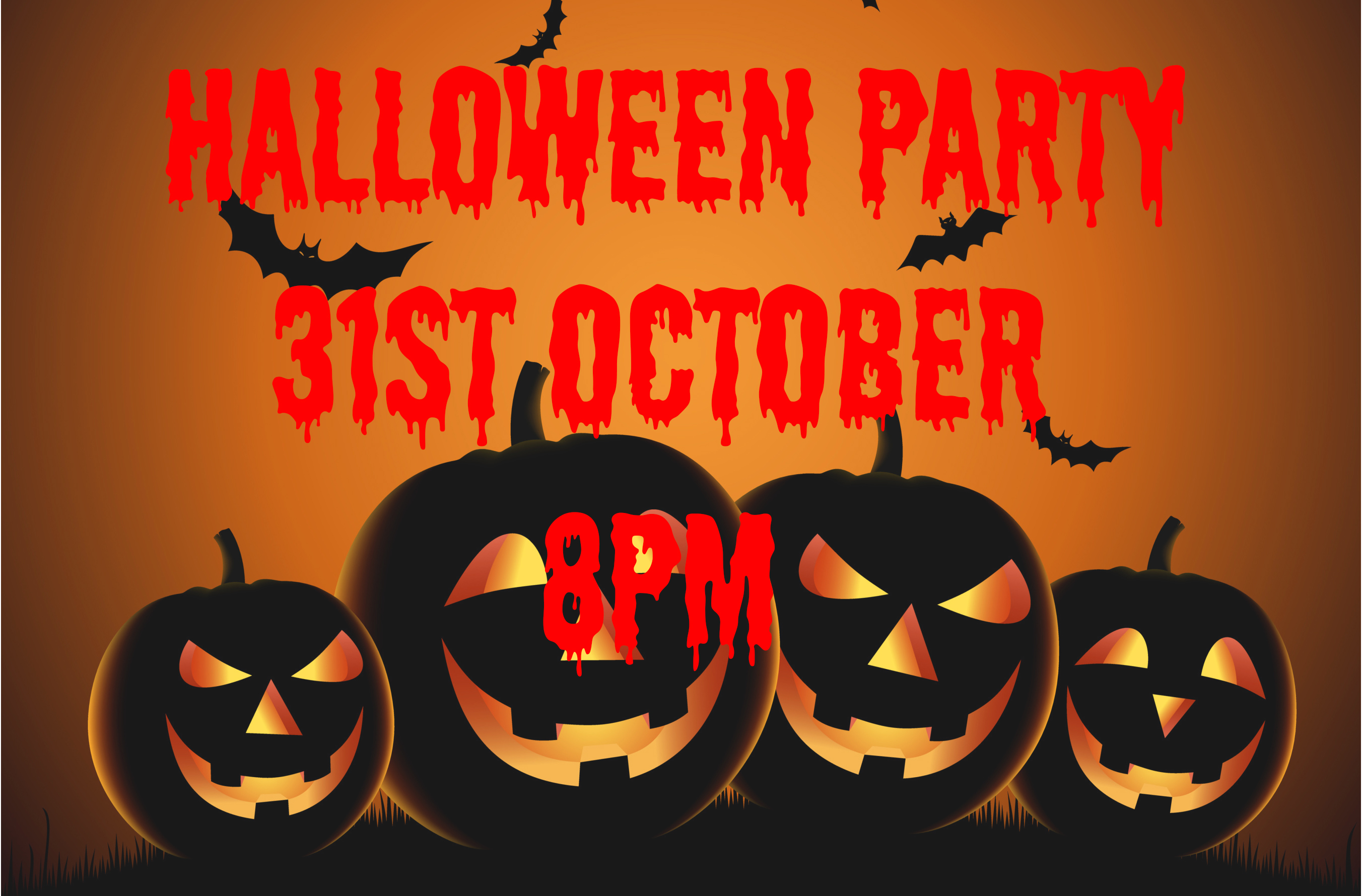 halloween party with music from blown gasket 31st october - Why Is Halloween On The 31st Of October
