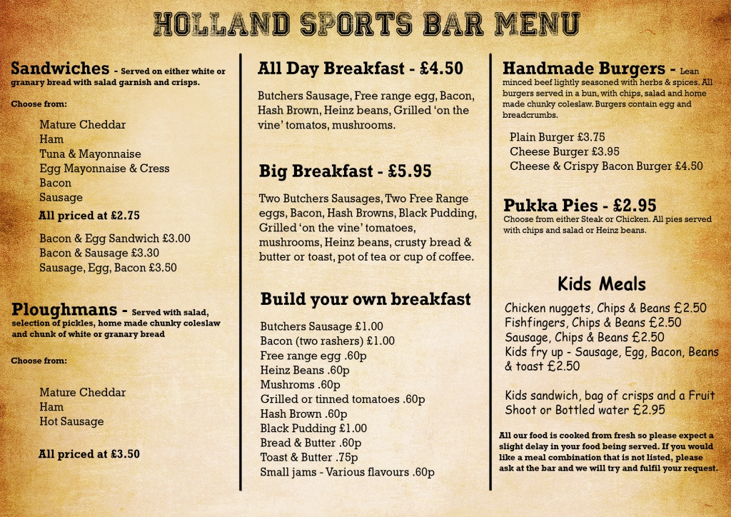 Holland Sports manu 2016