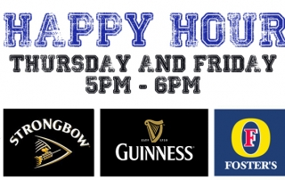 Holland Sports Happy Hour