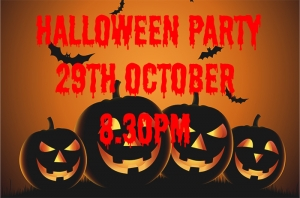 Halloween Party with Live music from Blown Gasket