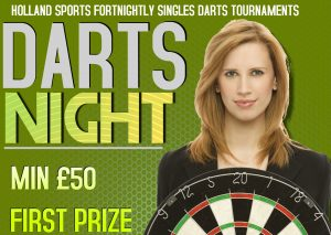 Fortnightly Prize Darts Tournament @ Holland Sports | England | United Kingdom