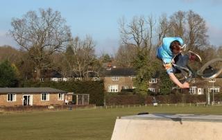 Hurst Green Skate park
