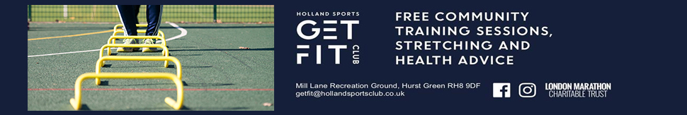 get fit, keep fit at Holland Sports